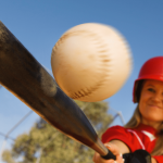How does baseball improve hand-eye coordination?