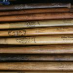 What kind of wood are baseball bats made from?