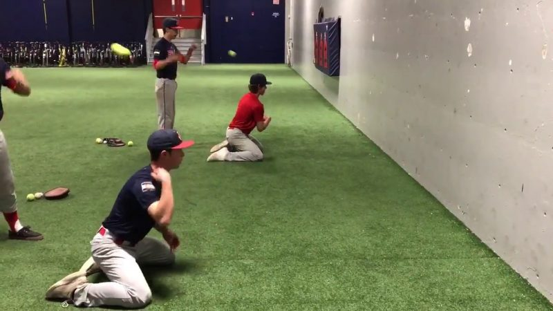 indoor baseball drills