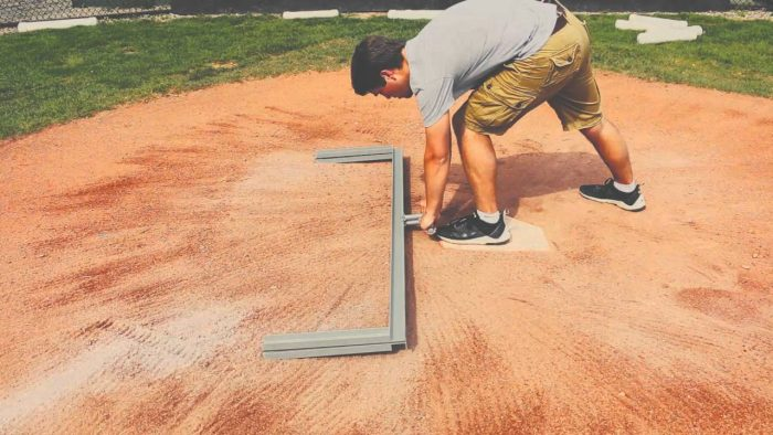 How to chalk a baseball field