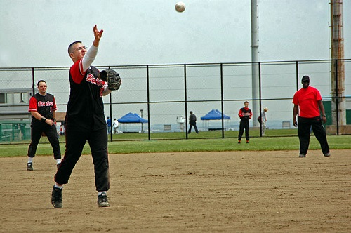 How to pitch slow pitch softball