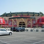 How much is parking at Angel Stadium?